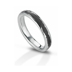 Classic silver volcanoes ring