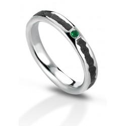 Aeolian ring emerald