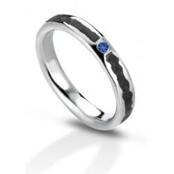 Aeolian ring sapphire